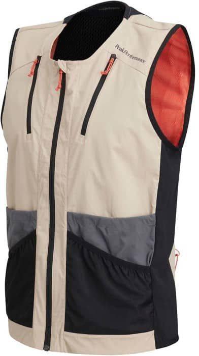 Vislight Utility Vest Beige XXL