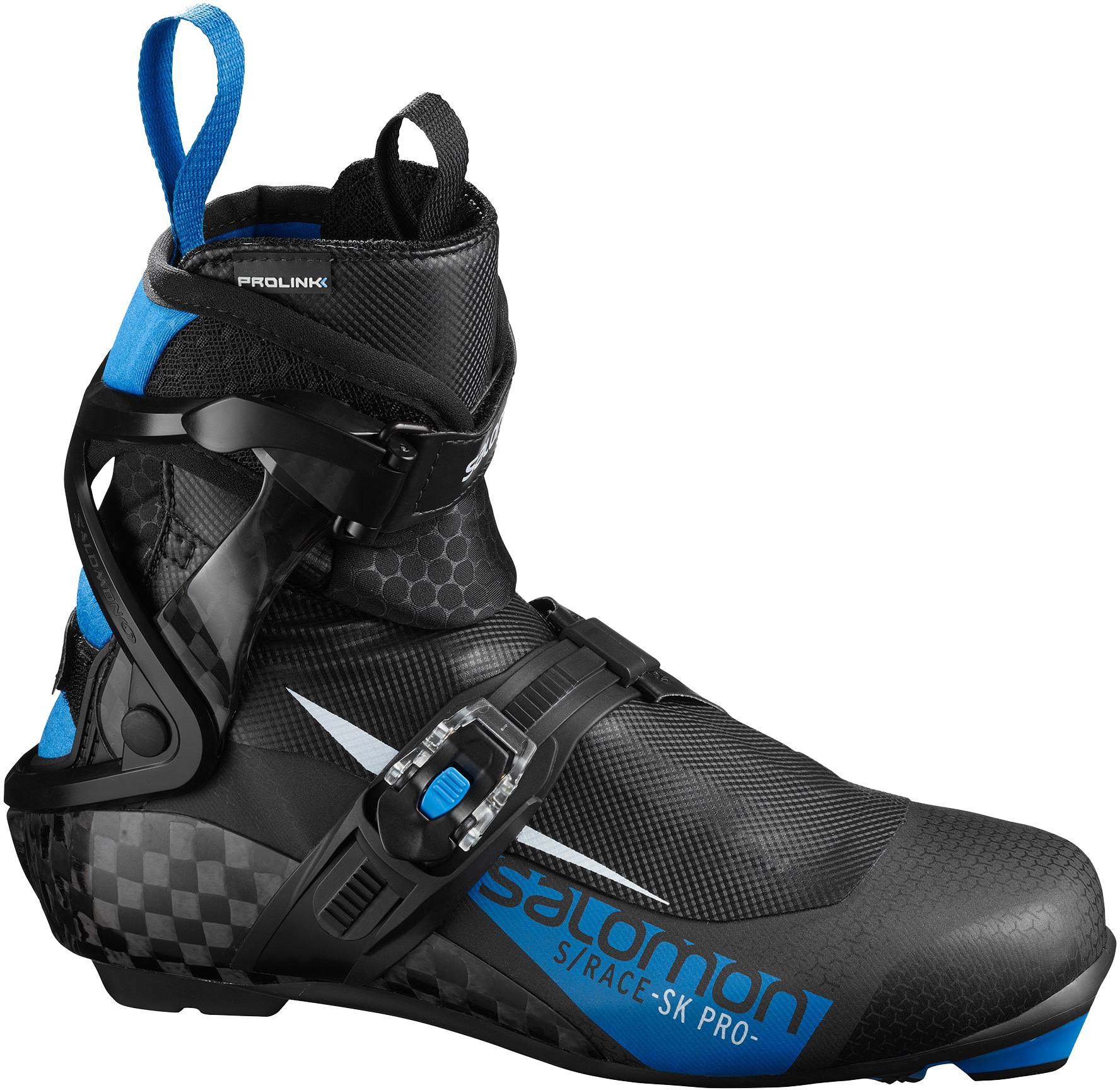 Salomon S/Race Skate Pro Prolink 19/20 Musta / Sininen UK 5,5
