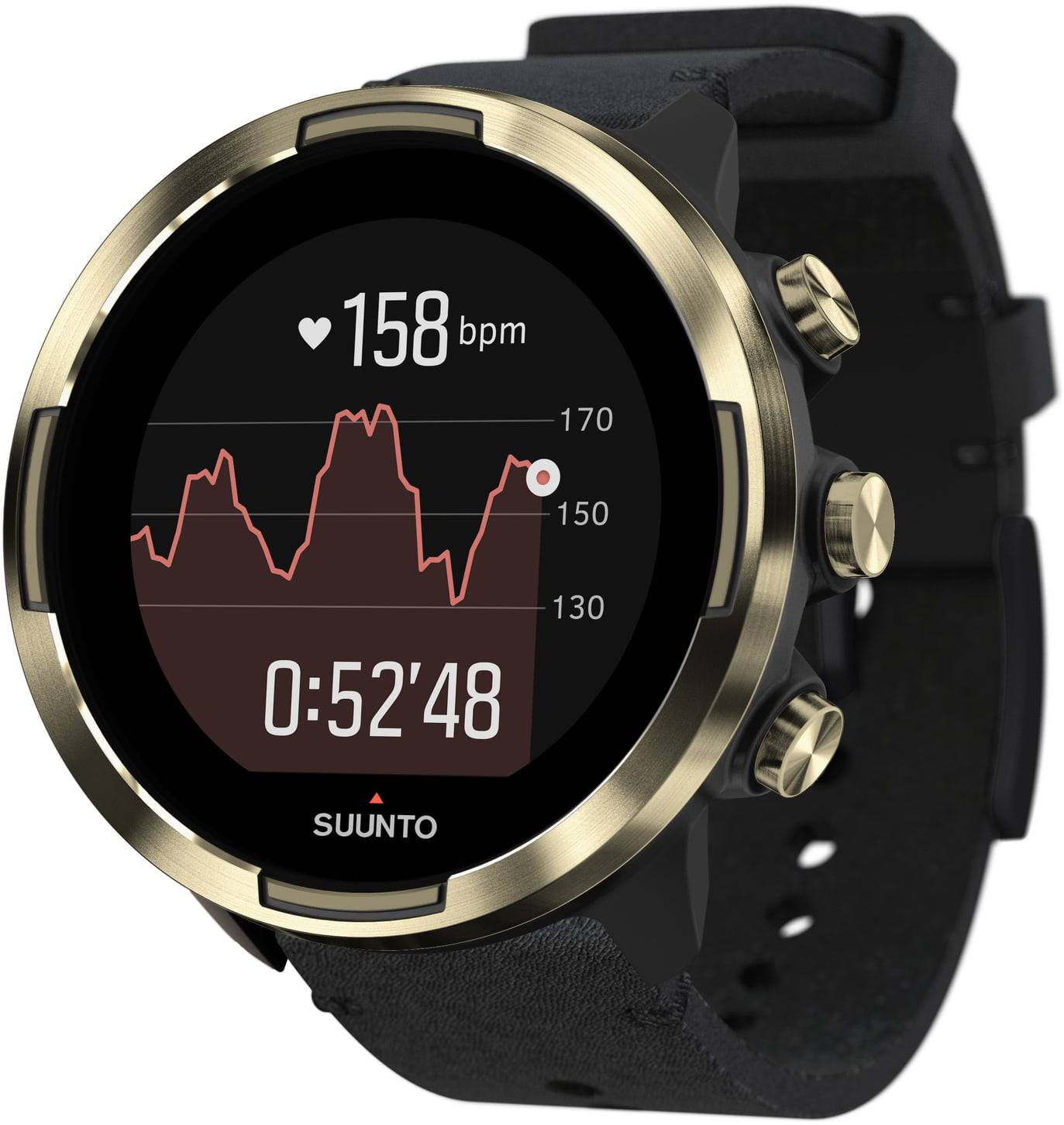 Suunto 9 Baro Gold Leather Kav
